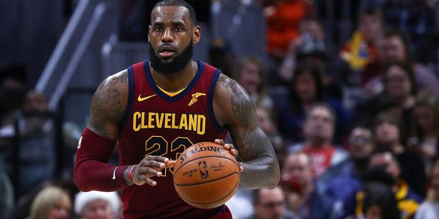 LeBron James'ten 59. 'triple double'