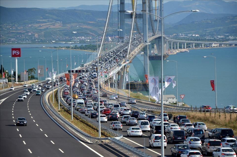 Osmangazi Köprüsü'nü kullanan sürücüler şikayetçi