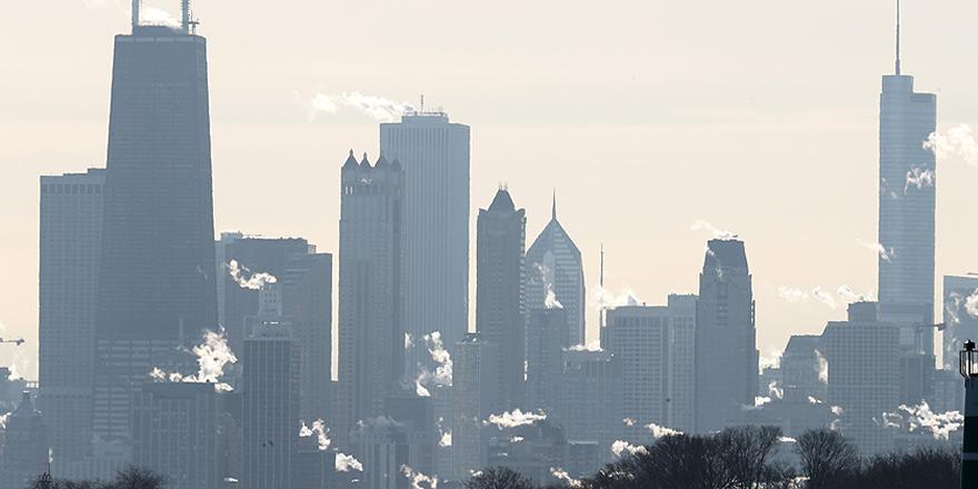 Chicagolulara 'dondurucu soğuk' uyarısı